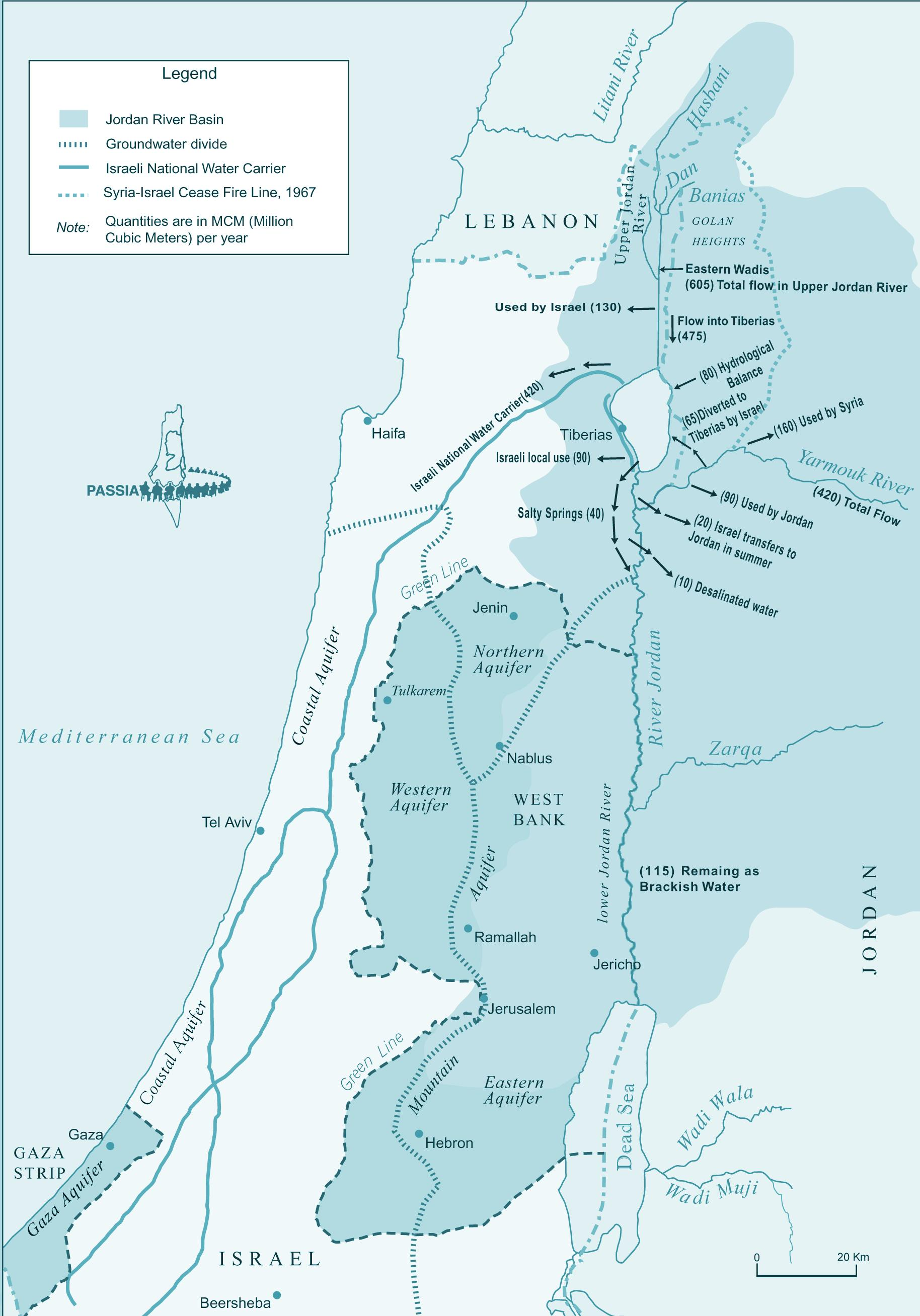 Map Of Upper Asia.Izraelis Upės Zemėlapis Zemėlapis Izraelio Upės Vakarų Azija Asia